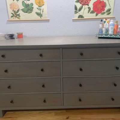A Craigslist Steal: My $100 Pottery Barn Dresser Redo
