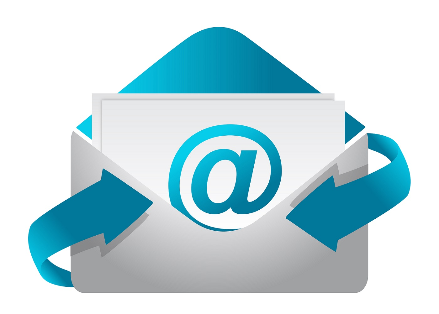 an icon depicting an email