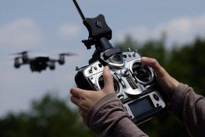 picture of a drone remote control